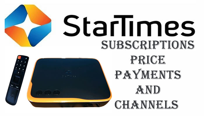 Startimes subscriptions