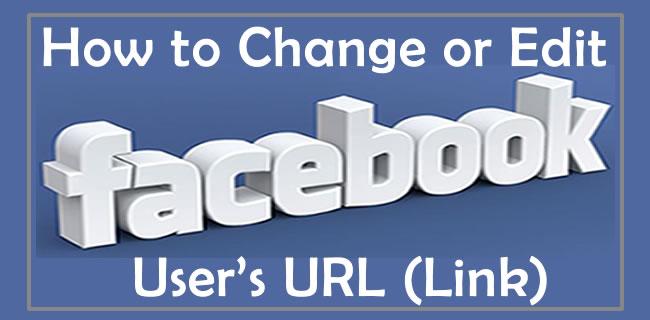 Change Facebook User's URL