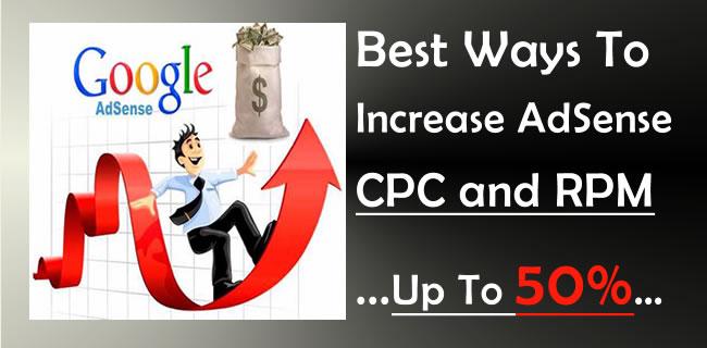 Increase AdSense CPC and RPM