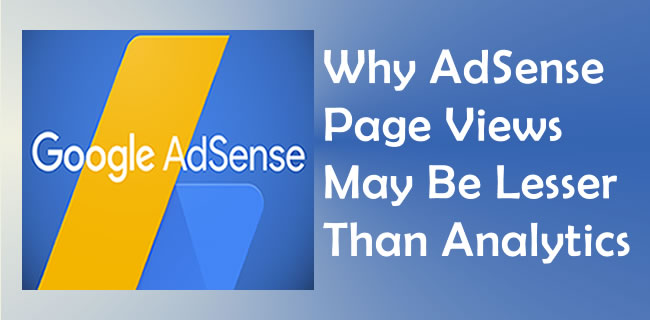 AdSense Page Views May Be Lesser