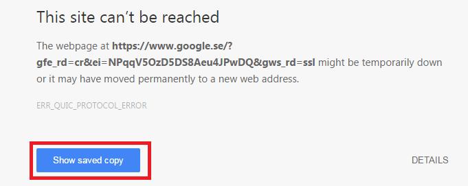 Browser Work Offline