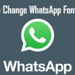 Change WhatsApp Font Color
