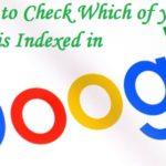 Post is Indexed in Google