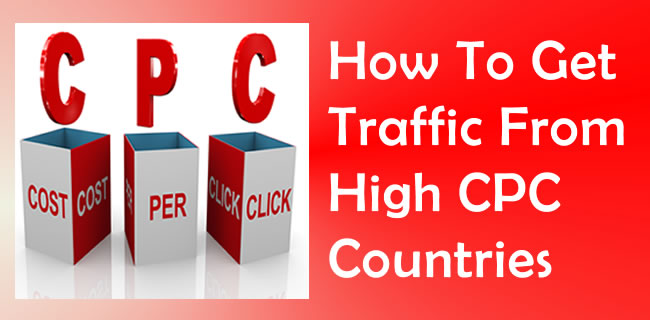 Traffic From High CPC Countries
