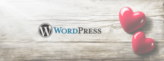 Love WordPress