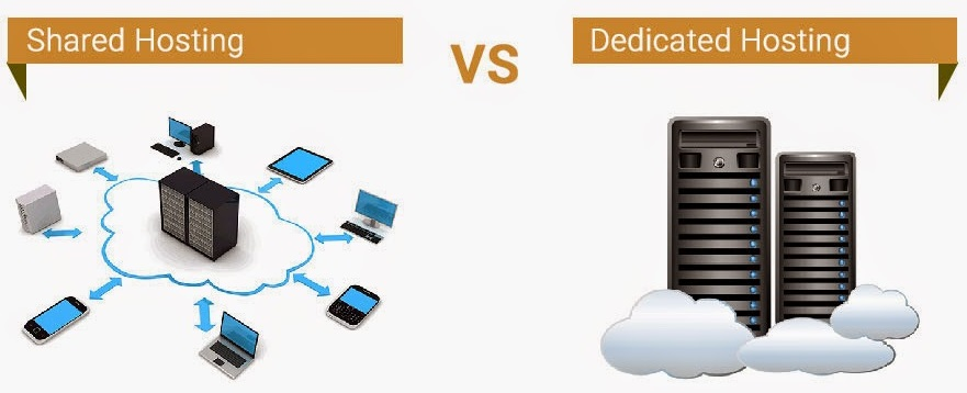 Difference Between Shared And Dedicated Hosting