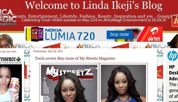 Linda Ikeji Makes Money