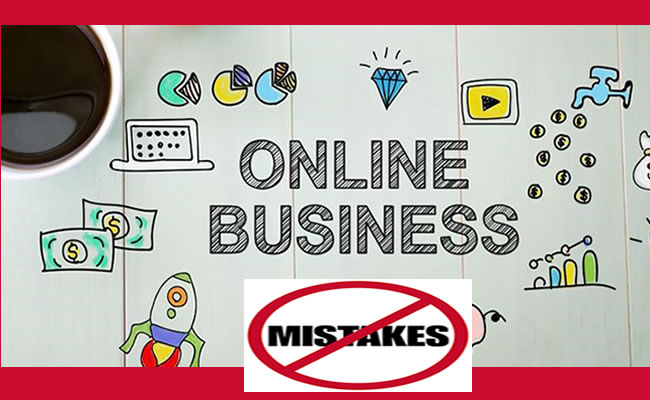Online Business Mistakes