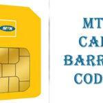 MTN Call Barring Code